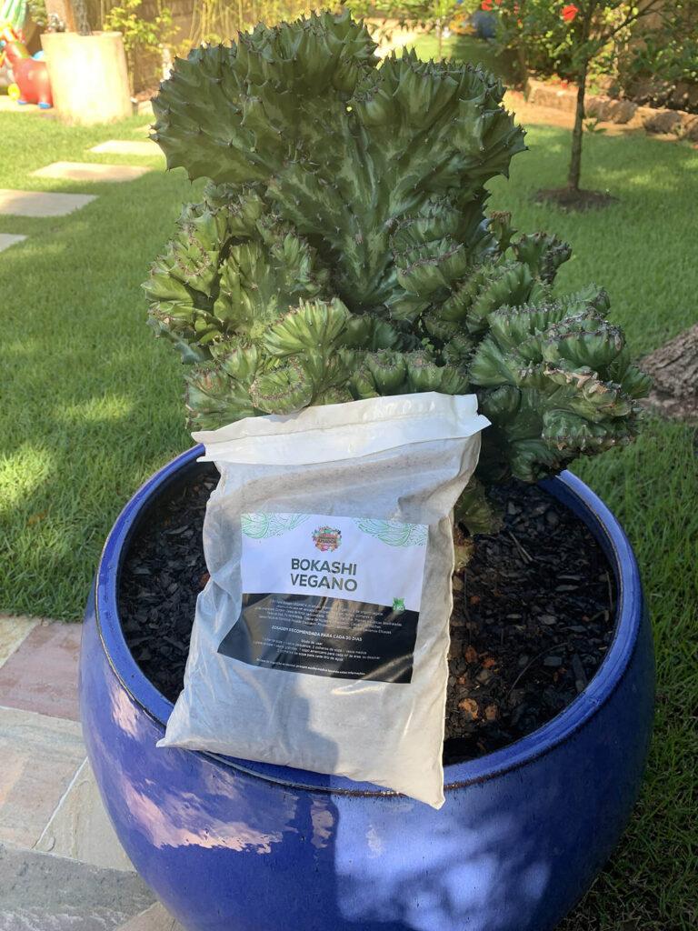 Bokashi Vegano do Jardineiro Amador