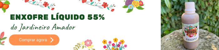 Enxofre líquido 55% do Jardineiro Amador