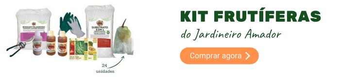 Kit Frutíferas do Jardineiro Amador